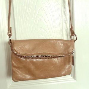 HOBO brand Leather Purse Bag long strap